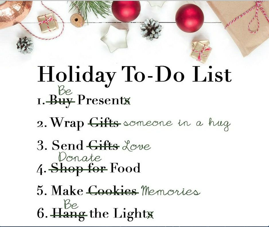 Holiday To-Do List Her Heartland Soul