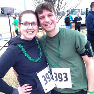Erin Fairchild Girl Gone Veggie Blarney Stone 5k St. Patrick's Day