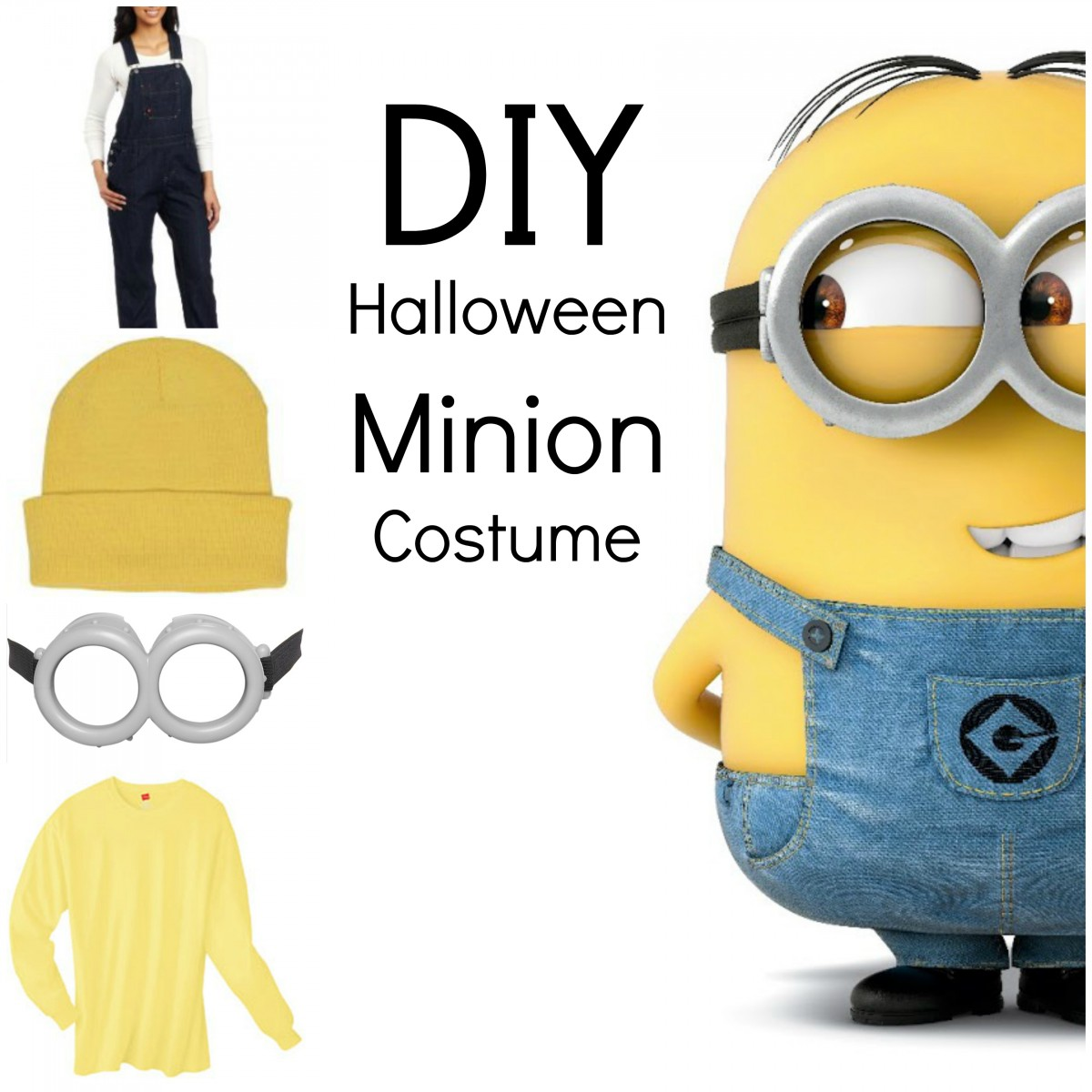 DIY Halloween Minion Costume - Her Heartland Soul