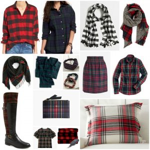Gift Guide for the Plaid Lover