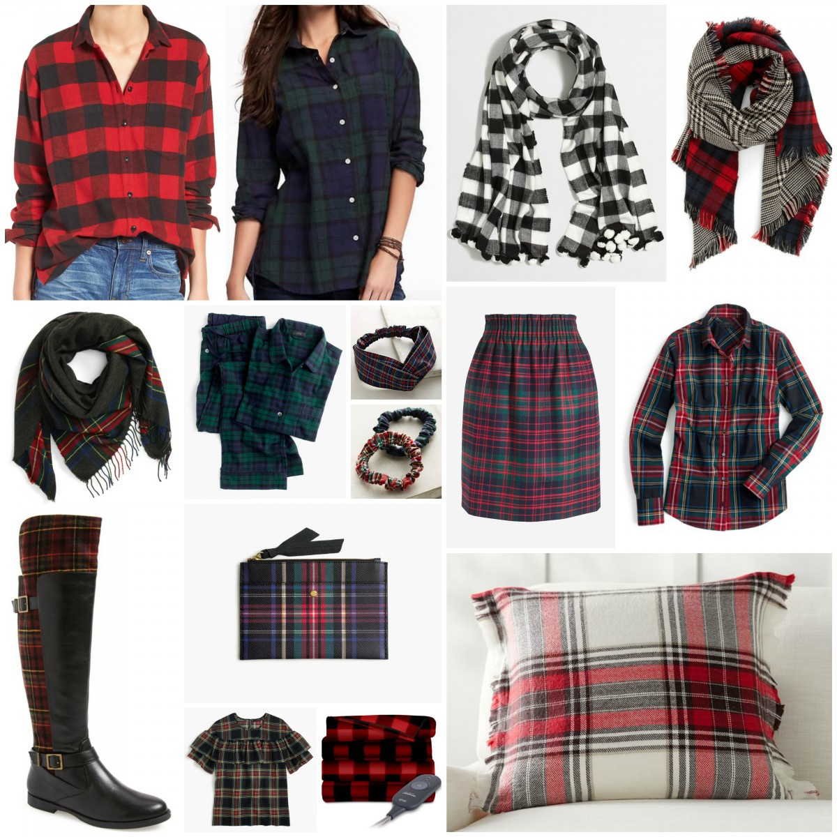 Gift Guide for the Plaid Lover Her Heartland Soul