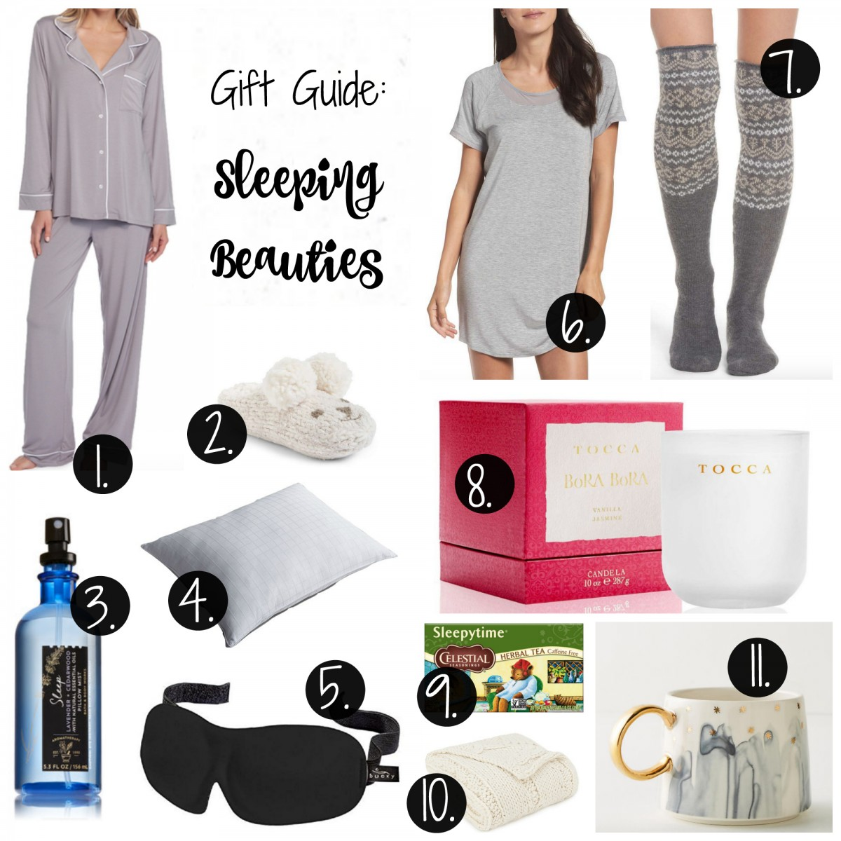 gift guide sleeping beauties her heartland soul