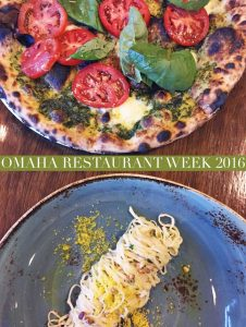 Omaha Restaurant Week 2016