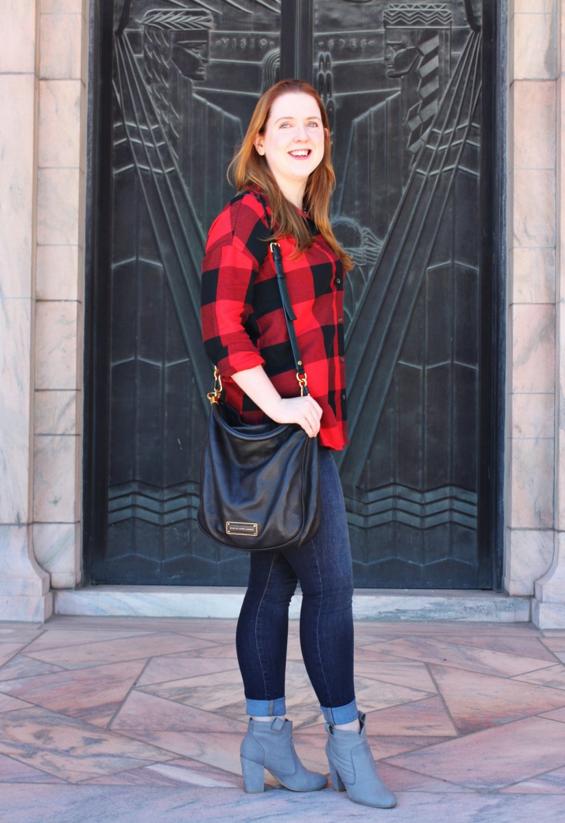 Old Navy Buffalo Plaid Shirt Her Heartland Soul