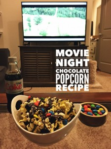 Movie Night Chocolate Popcorn Recipe