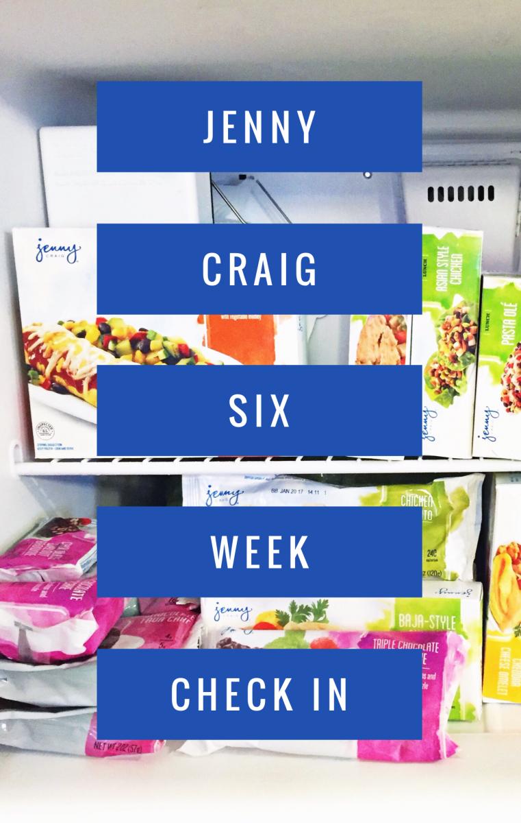 Jenny Craig 6 Week Check In Her Heartland Soul