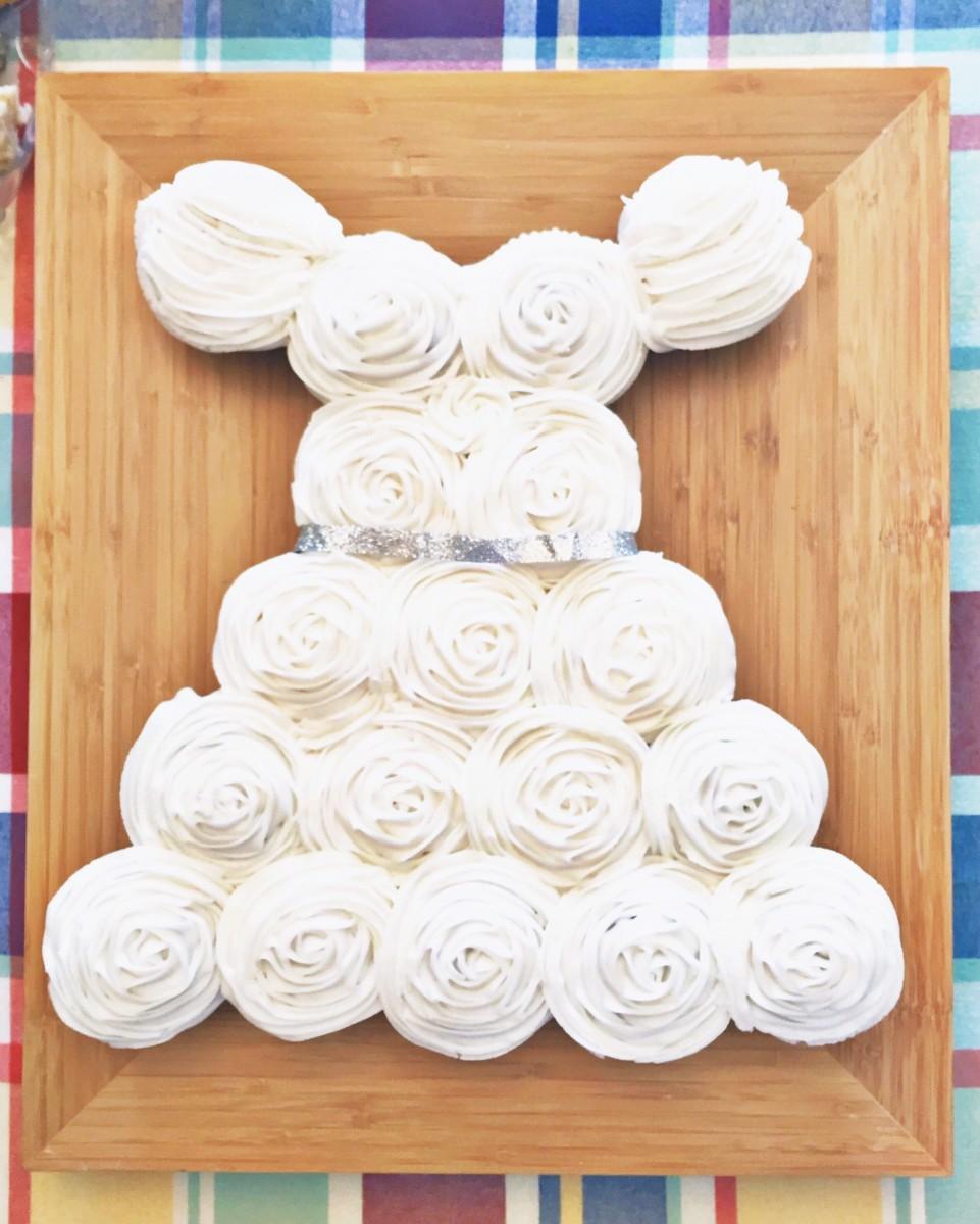 Hannah's Wedding Dress Cupcakes Her Heartland Soul