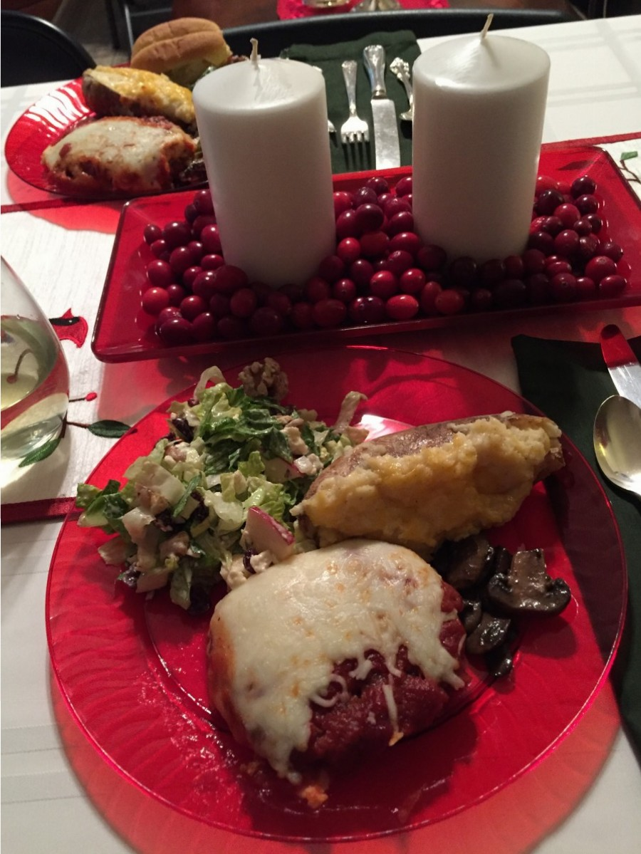 Christmas Eve Dinner Her Heartland Soul