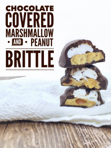 Chocolate Covered Marshmallow and Peanut Brittle Recipe