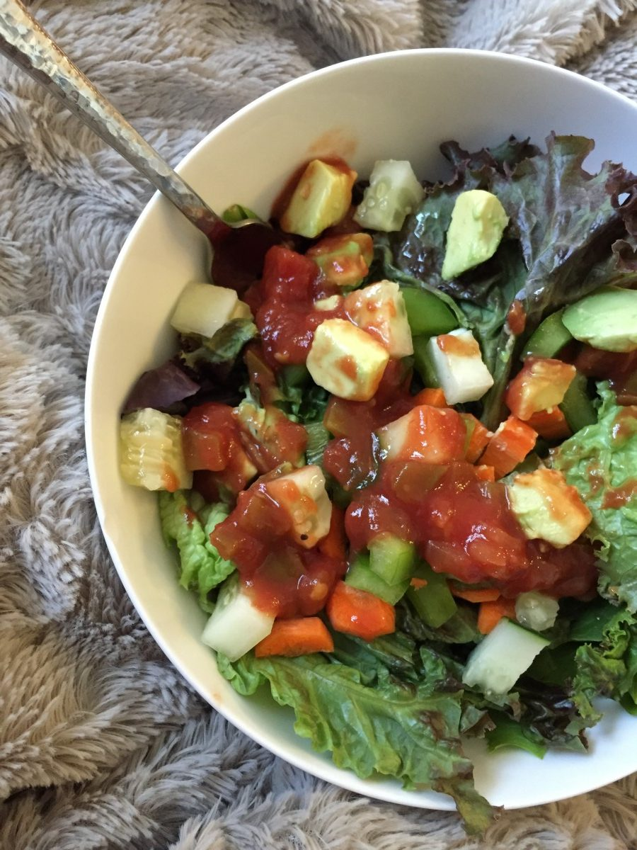 Jenny Craig Lunch Salad Her Heartland Soul