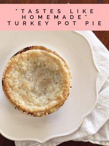 """Tastes Like Homemade"" Turkey Pot Pie"
