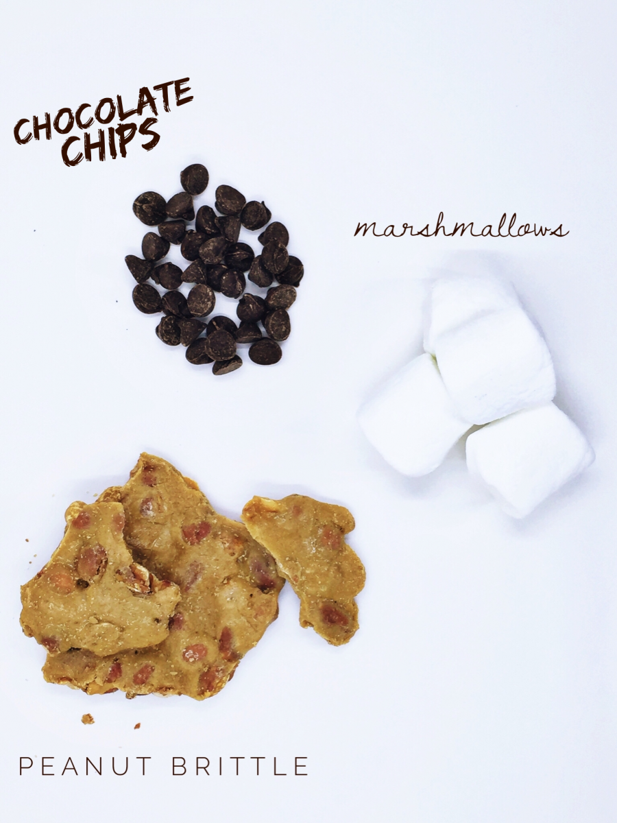 Chocolate Covered Marshmallow and peanut brittle recipe her heartland soul