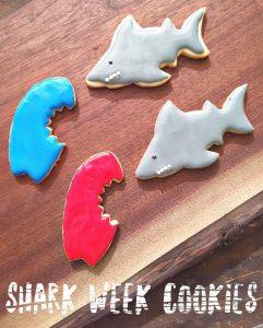 Shark Week Cookies Her Heartland Soul
