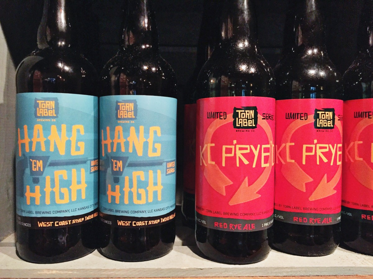 Torn Label Brewing Co Kansas City Where to Eat Her Heartland Soul