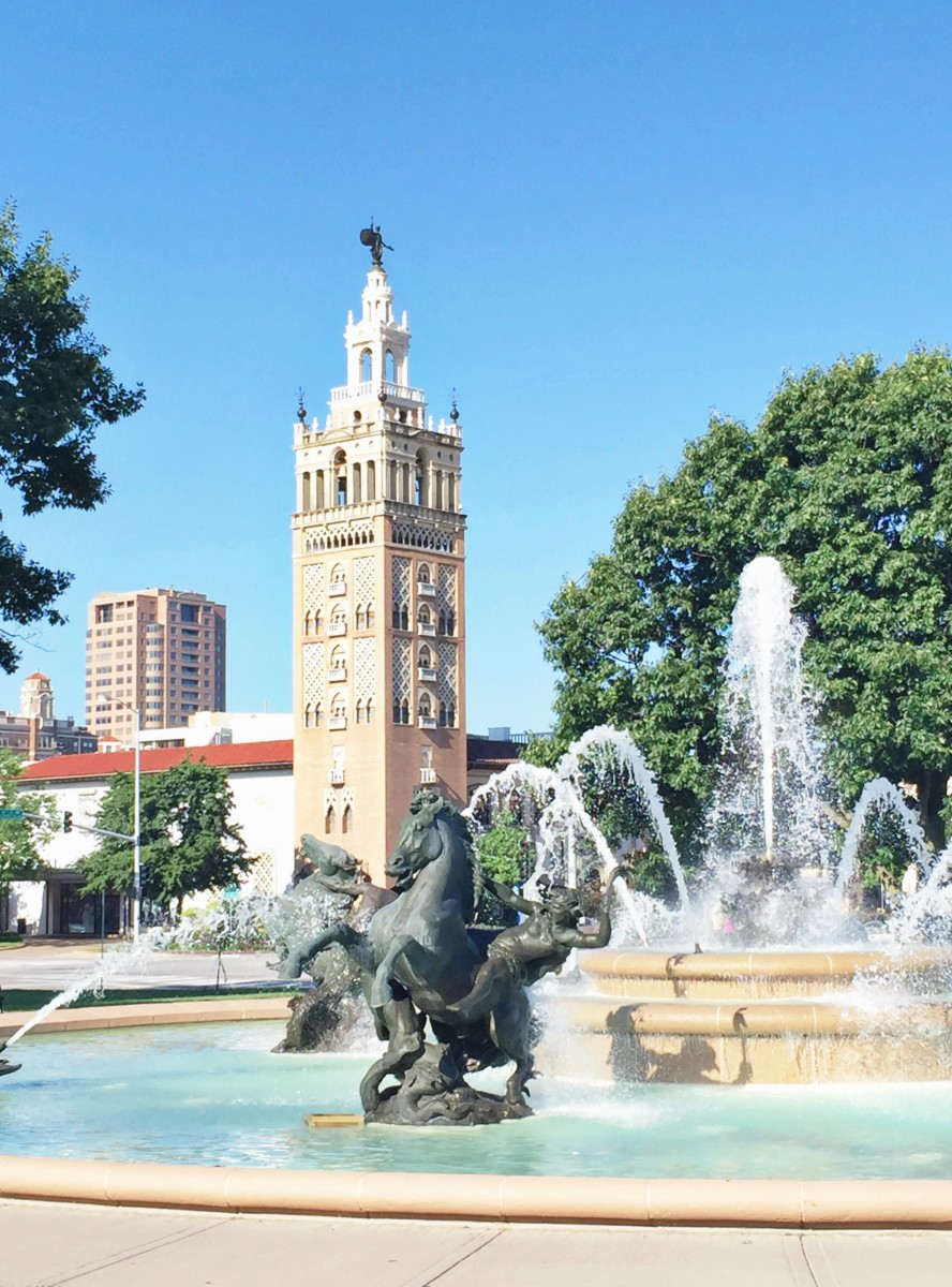 Country Club Plaza Fountain Kansas City Her Heartland Soul