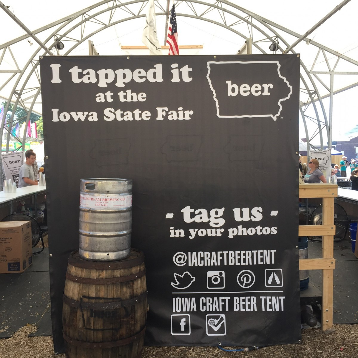 Iowa State Fair 2015 Her Heartland Soul Craft Beer Tent & Iowa State Fair 2015 Her Heartland Soul Craft Beer Tent - Her ...
