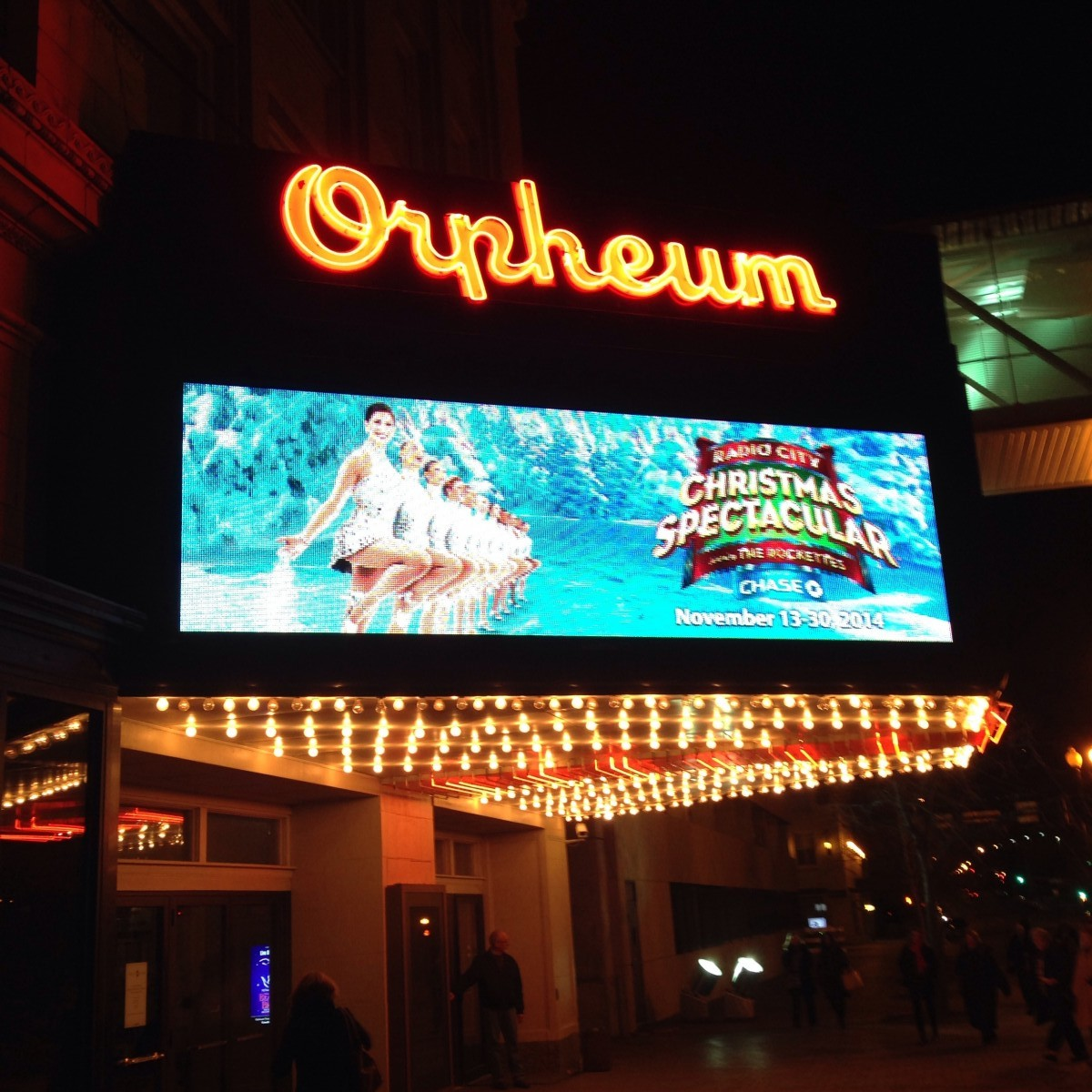 Orpheum Theater Rockettes Omaha Erin Fairchild Her Heartland Soul