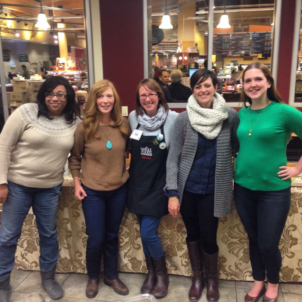 Whole Foods Omaha Blogger Event Thanksgiving Catering #sharethecheer Her Heartland Soul Erin Fairchild