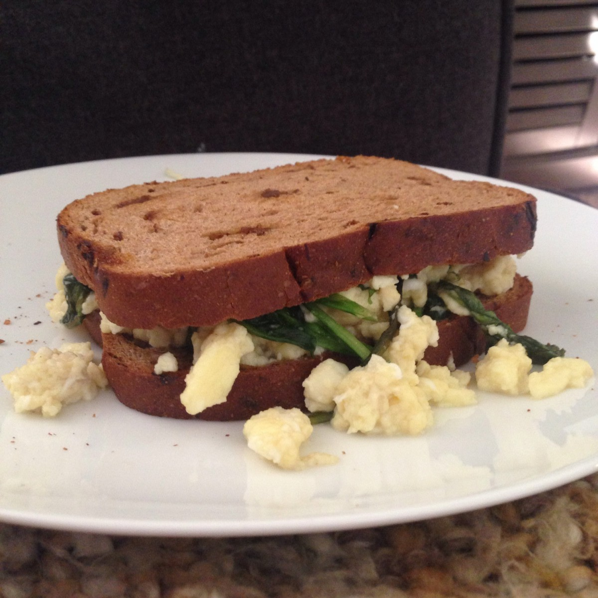 Pilates Egg Sandwich Her Heartland Soul Erin Fairchild