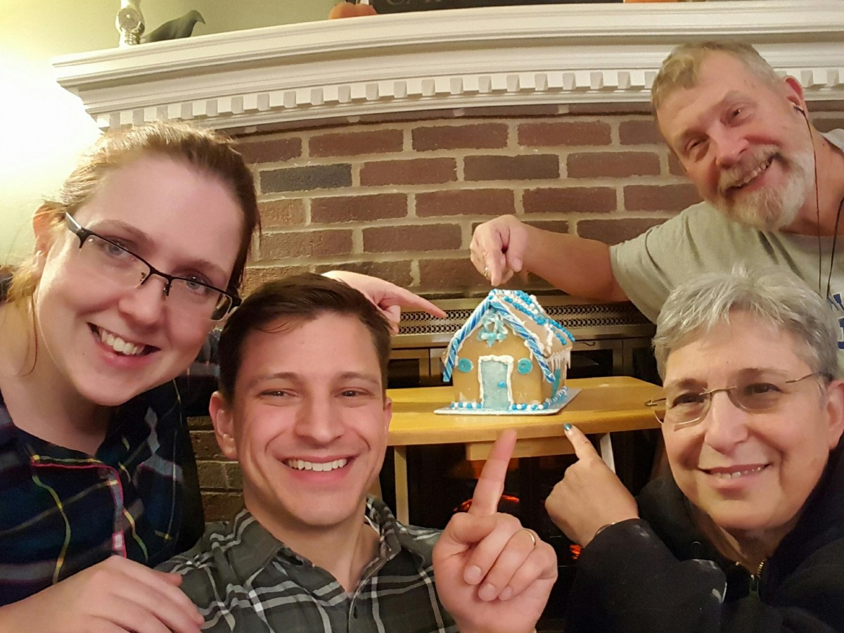Hanukkah House Family Her Heartland Soul