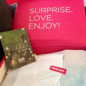 August 2014 POPSUGAR Must Have Box Review  Her Heartland Soul Erin Fairchild