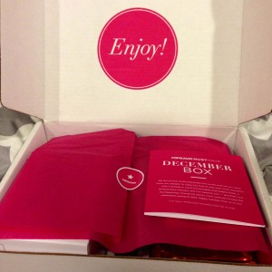 PopSugar Must Have Box December 2013 Review Girl Gone Veggie Erin Fairchild