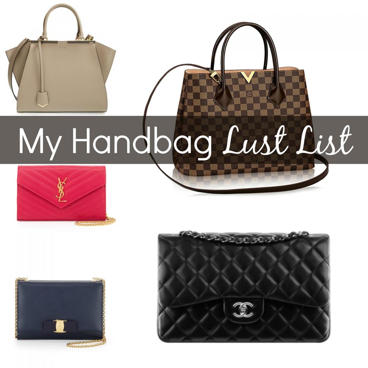 My Handbag Lust List Her Heartland Soul