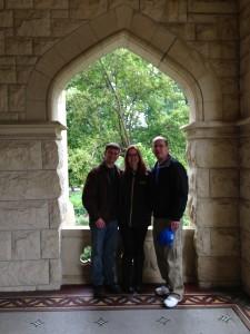 Dad Josh Erin Fairchild Visit Omaha Girl Gone Veggie