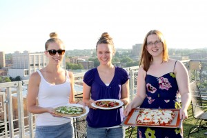 Three Cooks One Kitchen: Grilled Pizza Her Heartland Soul Erin Fairchild