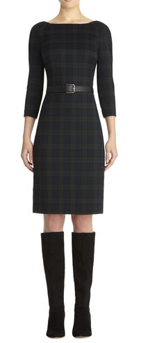 Anne Klein Plaid Sheath Dress Fashion Erin Fairchild Her Heartland Soul