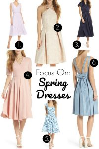 Spring dresses from the Gal Meets Glam Collection