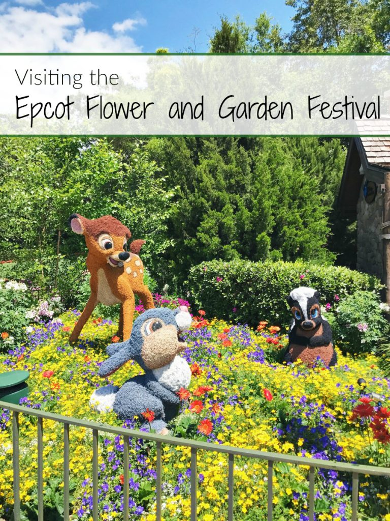 Visiting the Epcot Flower and Garden Festival