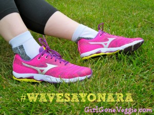 Mizuno Wave Sayonara Girl Gone Veggie Erin Smith