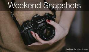 Weekend Snapshots Link Up Her Heartland Soul Erin Fairchild